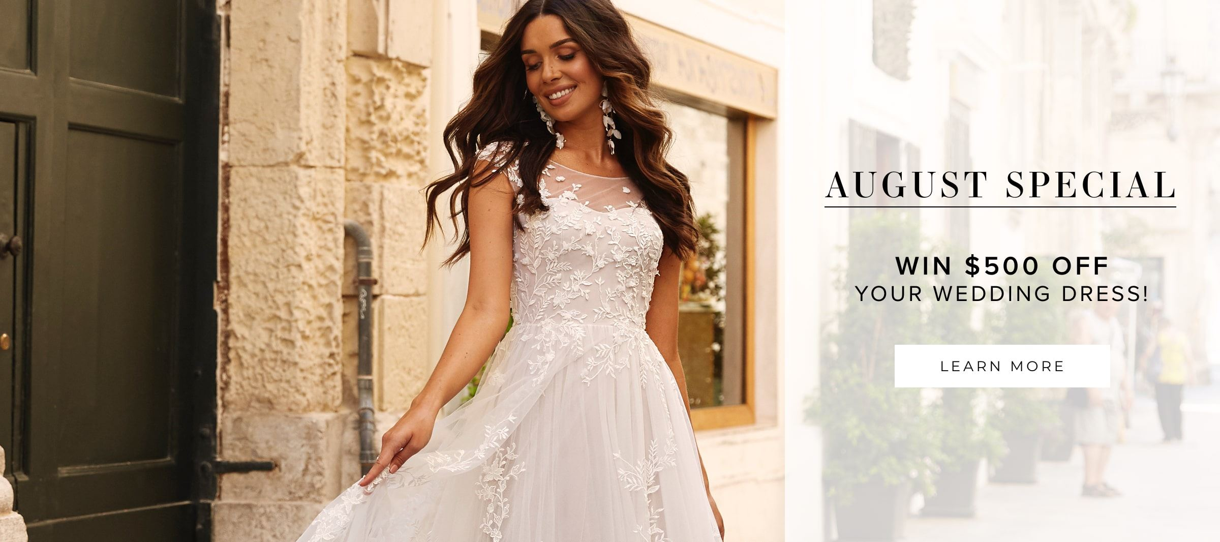 August Special Event At Bridal Impressions